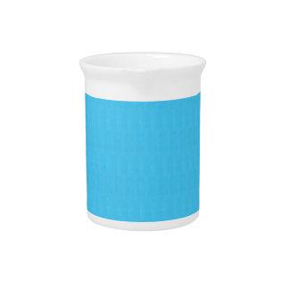 Blaue Beschaffenheits-Schatten-Schablone DIY Getränke Pitcher