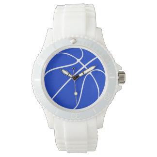 Blaue der Basketball-Armbanduhr der Frauen Armbanduhr