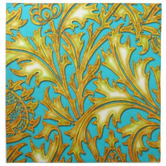 Blaue Golddistel Serviette