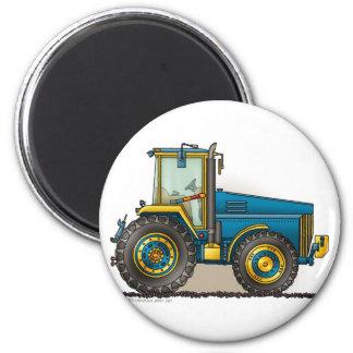 Blaue große Traktor-Magneten Magnets