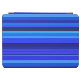 Blaue horizontale Streifen iPad Air Hülle