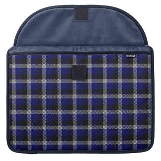 Blaue karierte Macbook Prohülse Sleeves Für MacBook Pro
