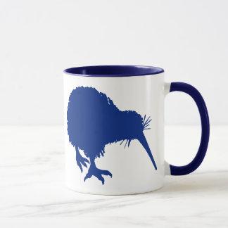 Blaue Kiwi Tasse