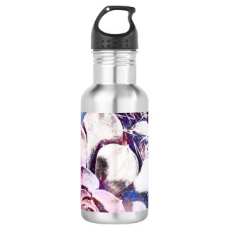 Blaue Kosmoswasserflasche Trinkflasche