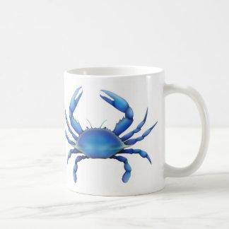 Blaue Krabben-Tasse Tasse