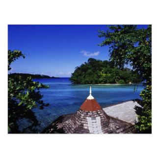 Blaue Lagune, Hafen Antonio, Jamaika Postkarte