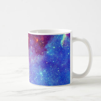 Blaue lila Nebelfleck-Tasse Tasse