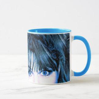 blaue Medusaschale, Tasse