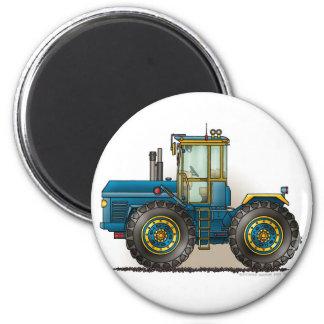 Blaue Monster-Traktor-Magneten Runder Magnet 5,1 Cm