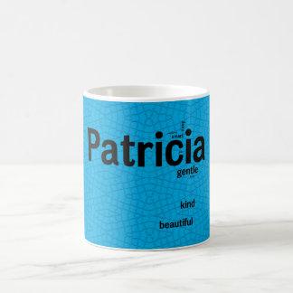 Blaue Mosaik-Tasse Patricia Tasse