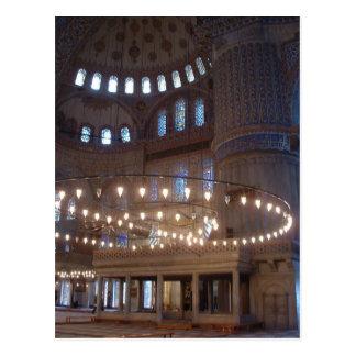 Blaue Moschee Postkarte