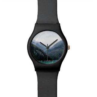 Blaue Schicht-Uhr Uhr