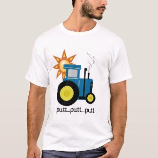 Blaue Schlag-Schlag-Traktor-T-Shirts und Geschenke T-Shirt