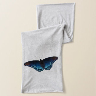 Blaue Schmetterlinge Schal