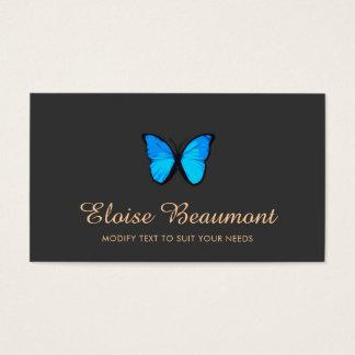 Blaue Schmetterlings-Natur Visitenkarten