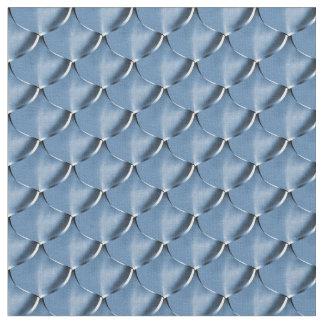 Blaue Stahlpost Stoff