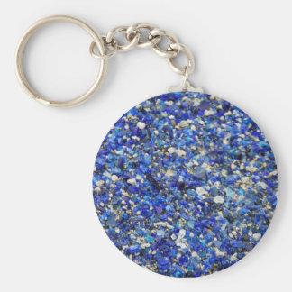 Blaue Steine Schlüsselanhänger