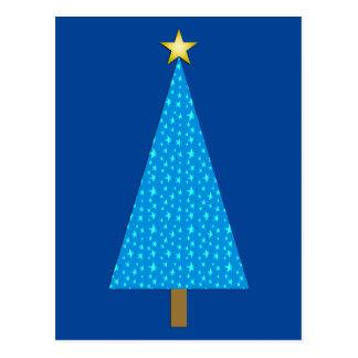 Modernes weihnachten postkarten for Weihnachtsbaum fa r fensterbank