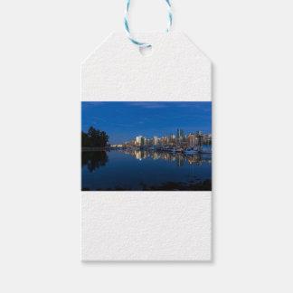 Blaue Stunden-Reflexion von Vancouver BC Geschenkanhänger