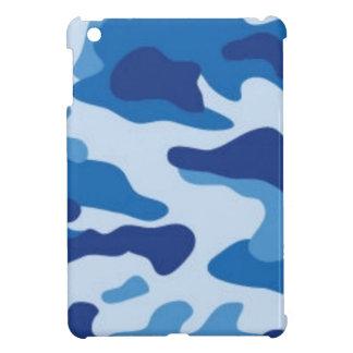 Blaue Tarnung iPad Mini Hülle