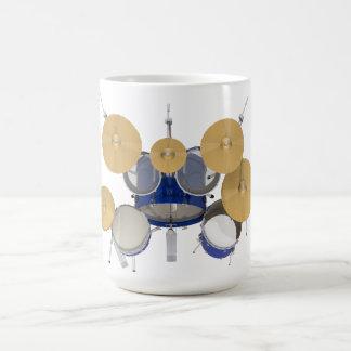 Blaue Trommel-Ausrüstung: Tasse