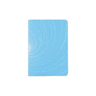 Blaue Turbulenz Passhülle