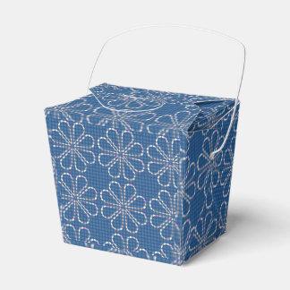 Blauer Bevorzugungs-Kasten Geschenkschachteln