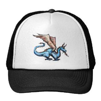 blauer Drache Truckercap