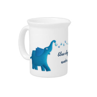 blauer Elefant Getränke Pitcher