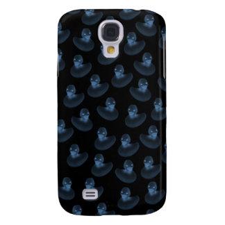 Blauer GummiDuckies 3G iphone Kasten Galaxy S4 Hülle