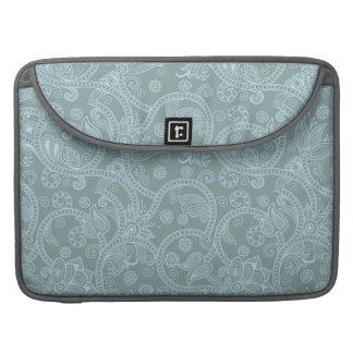 """Blauer Hennastrauch 15"""" Macbook Prohülse Sleeves Für MacBooks"""