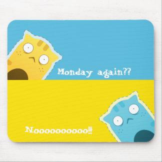 Blauer Ingwer Cat#2 Mousepad