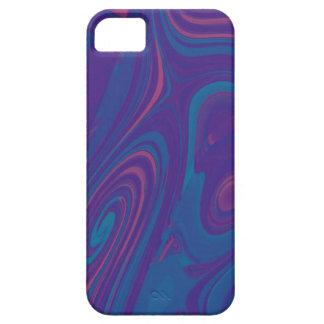 Blauer Kaugummi-Gewohnheits-Kasten Barely There iPhone 5 Hülle