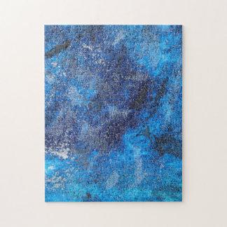 Blauer Kosmos #1 Puzzle