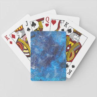 Blauer Kosmos #1 Spielkarten