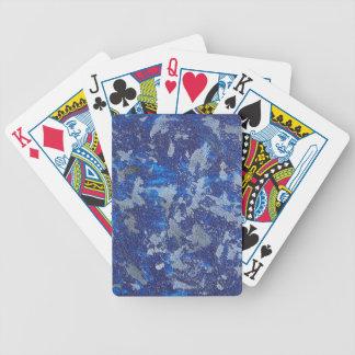 Blauer Kosmos #3 Bicycle Spielkarten