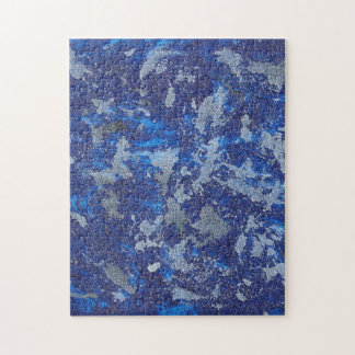 Blauer Kosmos #3 Puzzle