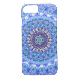 Blauer Mandala iPhone 7 Kasten iPhone 8/7 Hülle