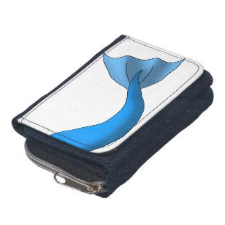 Blauer Meerjungfrau-Schwanz