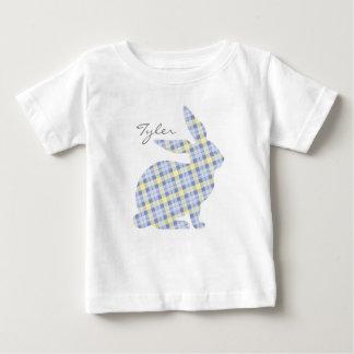 Blauer Osterhasen-grafischer T - Shirt für Kinder