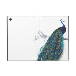 Blauer Pfau mit schönen Schwanzfedern iPad Mini Schutzhülle