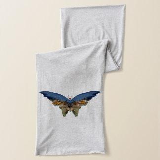 Blauer Schmetterling durch Albert Bierstadt - Schal