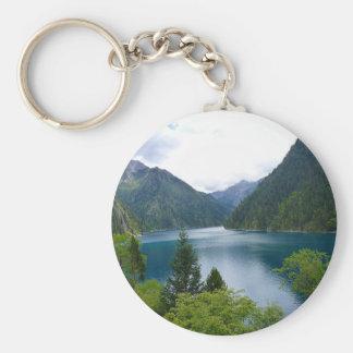 Blauer See Schlüsselanhänger