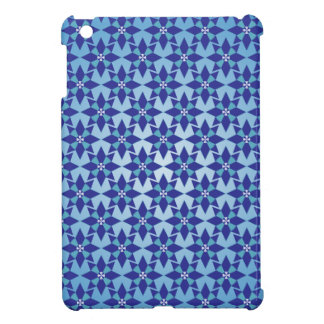 Blauer Stern-hartes Muschel iPad Minifall iPad Mini Cover