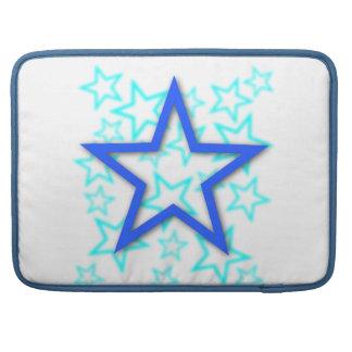 Blauer Stern Macbook Prohülsen Sleeves Für MacBooks