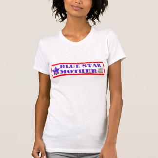 Blauer Stern-Mutter - verletztes Shirt