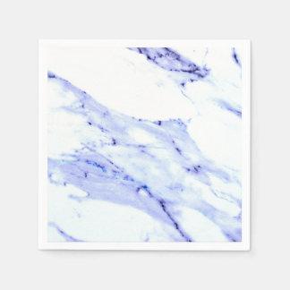 Blauer und weißer Marmor Servietten