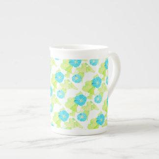 Blauer Winden-Garten Porzellan-Tassen
