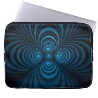 Blauer Wunderkasten Laptop Schutzhülle