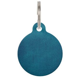 Blaues Aquarell Tiermarken